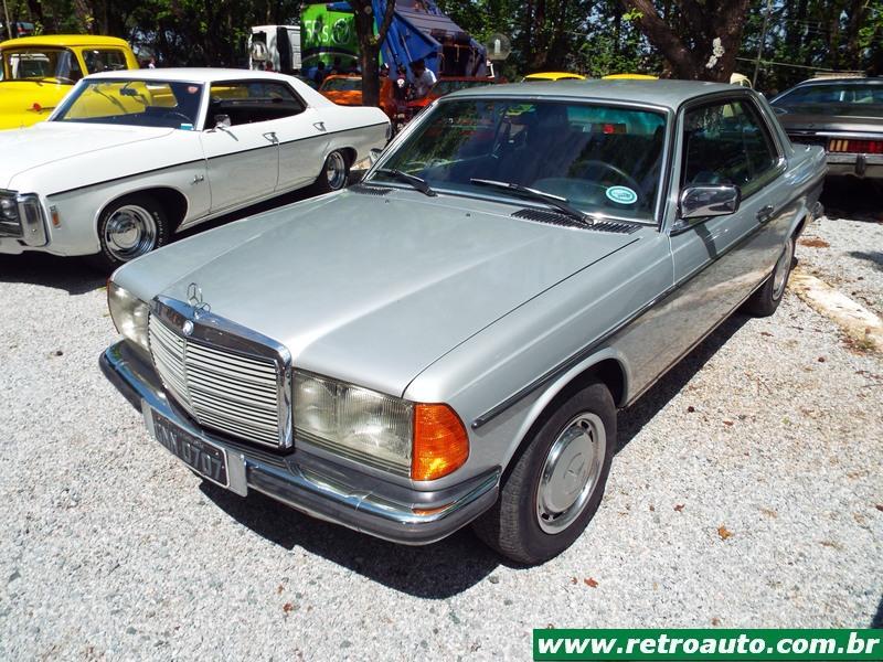 Mercedes-Benz W123. Sucesso da casa Daimler-Benz