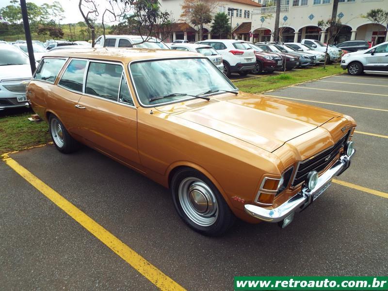 Chevrolet Caravan: Uma perua que marcou época no Brasil