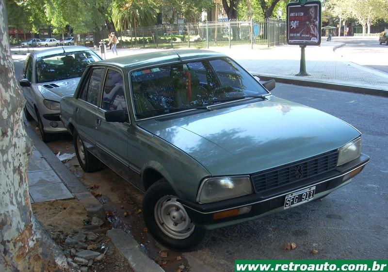 Peugeot 505 – Rumo ao topo