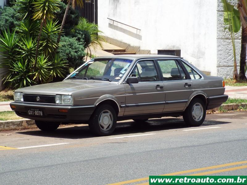 Volkswagen Santana: O Luxo de origem alemã no Brasil
